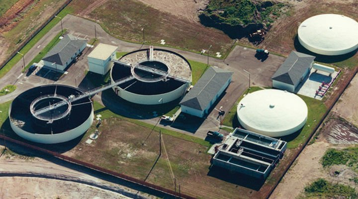 DAVCO­™ Field-Erected System Wastewater Treatment Plants