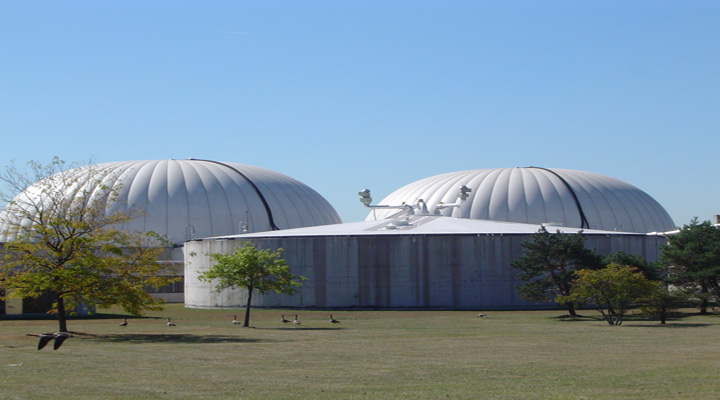 Dystor® Double Membrane Digester Gas Holder Systems