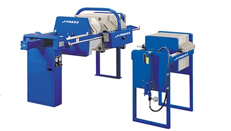 Small Capacity J-Press®  Sidebar Filter Presses