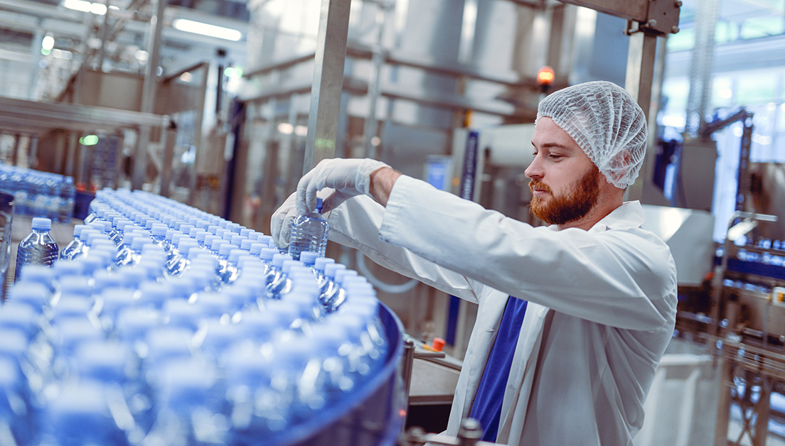 Bottled Water Produced More Efficiently