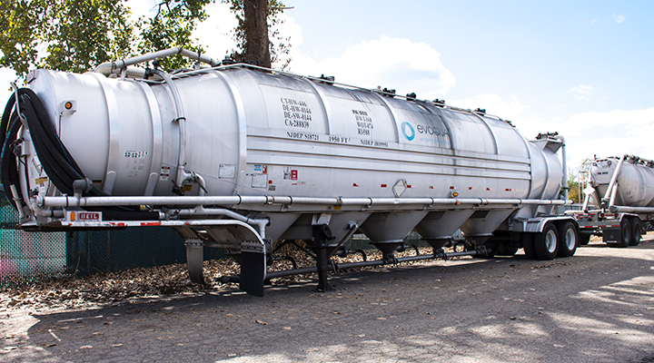 Ion Exchange Resin Tanker Delivery Service