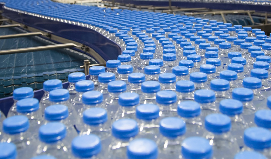 Leading Bottled Water Company Relies on CDI® System