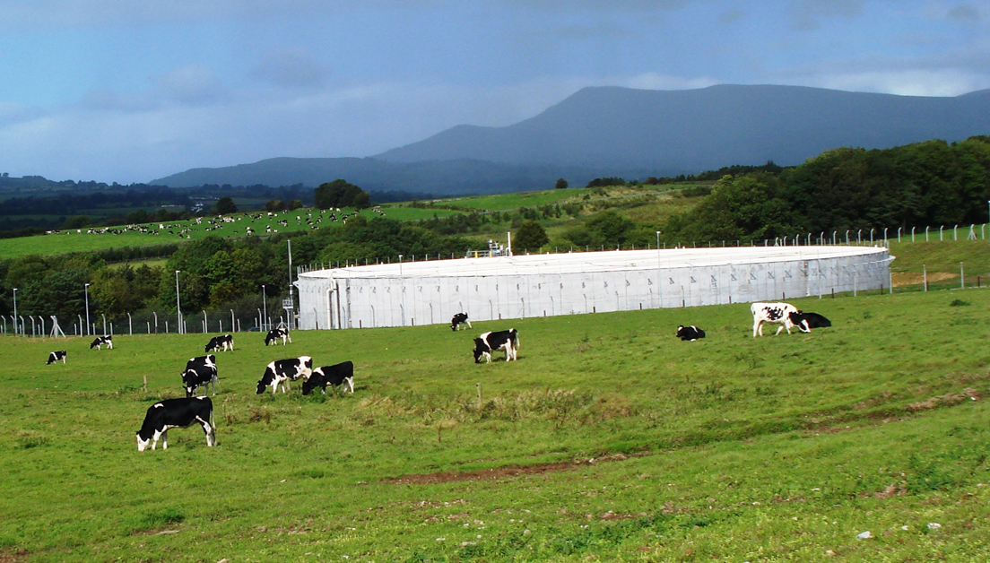 World's Largest Above-Ground ADI-BVF® Digester Installed at Ireland's Dairy Co-op