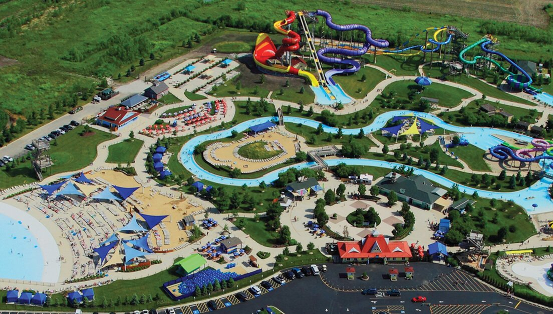 Reducing Footprint & Improving Water Quality at Raging Waves Water Park
